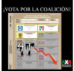 Vota por la coalición